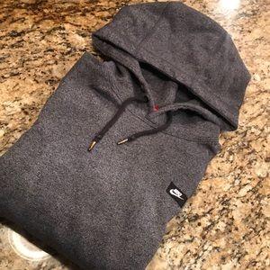 Nike dark grey pullover hoodie sweater S